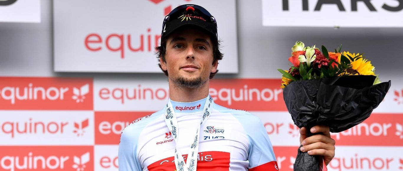 Victor Lafay termine 3e du classement général et meilleur jeune.